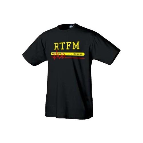 Linux tričko RTFM - original