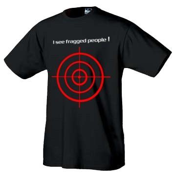 IT tričko I see fraged people