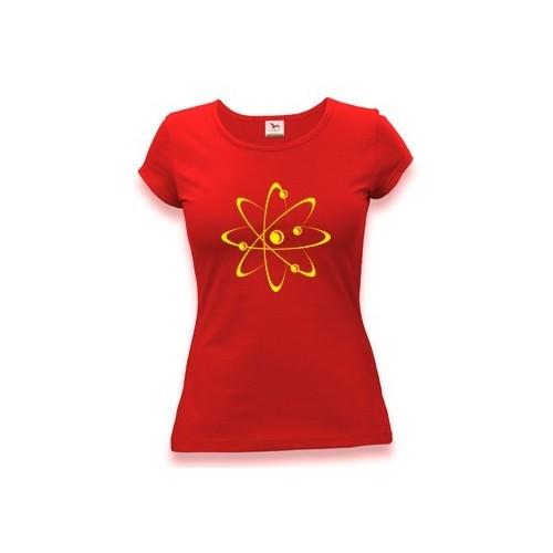 Geek tričko Atom - Dámské