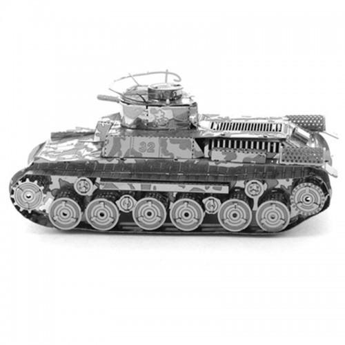 3D ocelová skládačka TANK Panzerkampfwagen VI Tiger