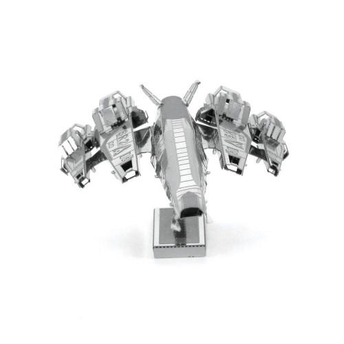 3D ocelová skládačka SSV Normandie SR-2 Cerberus z Mass Effect 2