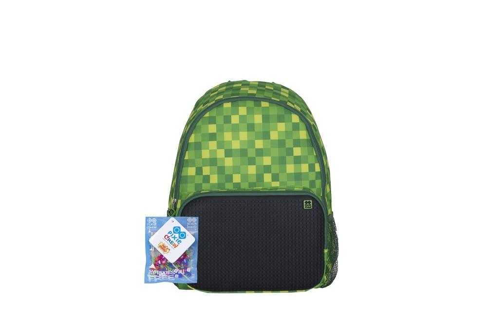 Dětský pixel batoh - Pixie Batoh 02 zelený