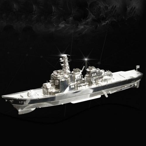 3D ocelová skládačka Torpédoborec