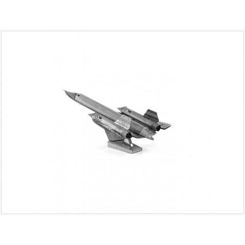 3D ocelová skládačka Letadlo Lockheed SR-71 Blackbird
