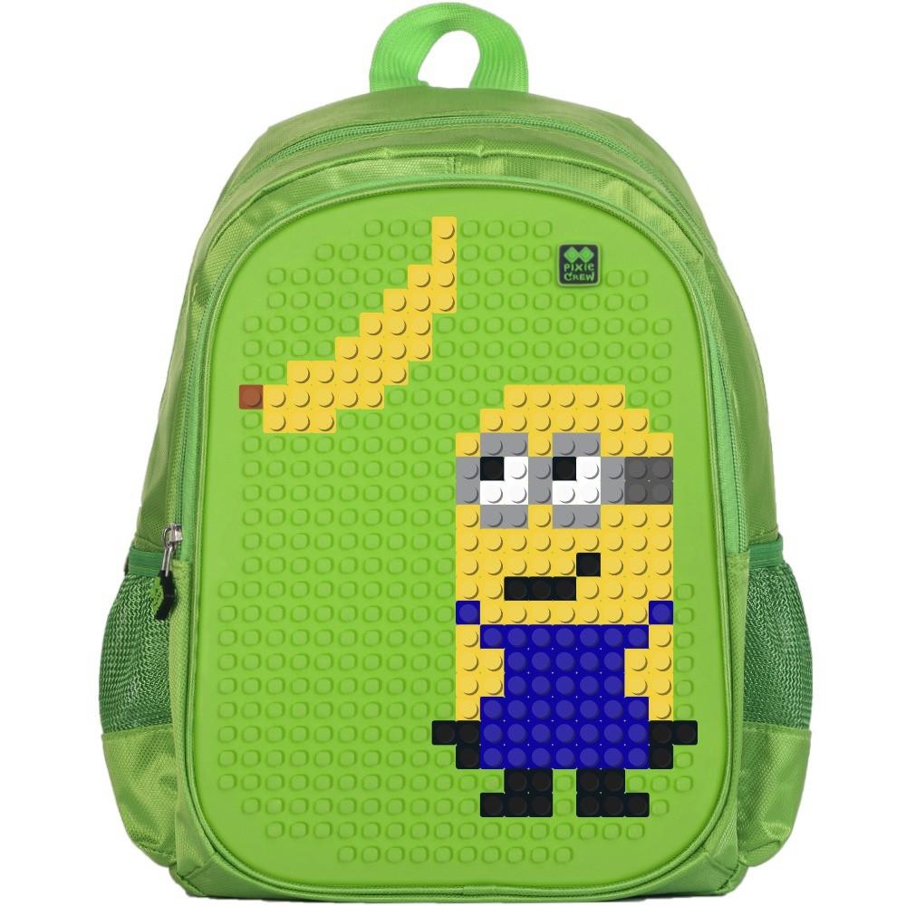 Dětský pixel batoh - PIXIE Batoh 07 Zelená