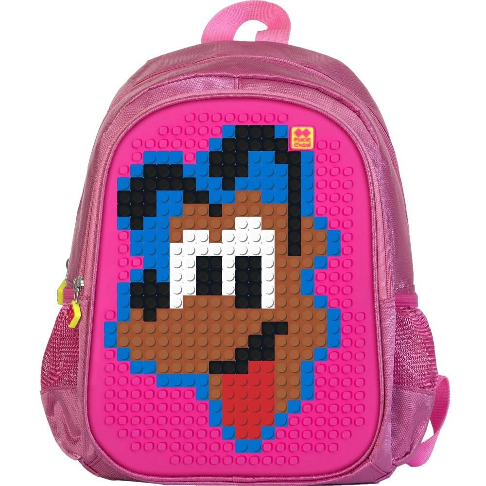 Dětský pixel batoh - PIXIE Batoh 07 Růžová