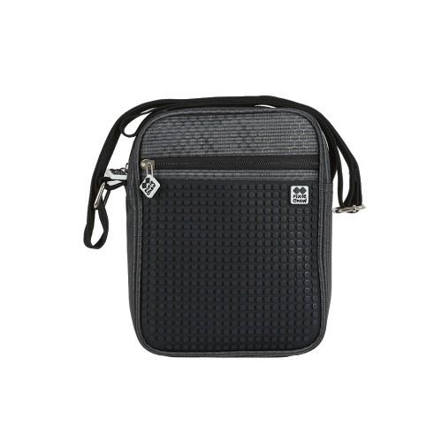 Kreativní pixelová taška přes rameno černá
