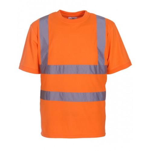 Reflexní tričko Yoko Ostře Oranžová