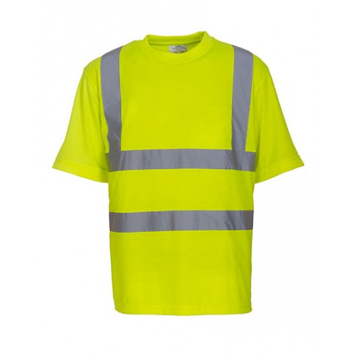 Reflexní tričko Yoko Ostře Žlutá
