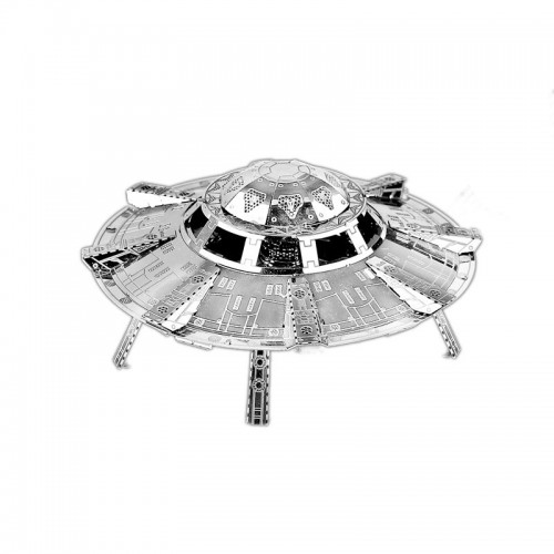 3D ocelová skládačka UFO