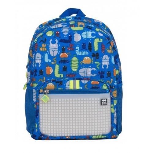 Dětský kreativní pixelový batoh broučci/svítící ve tmě