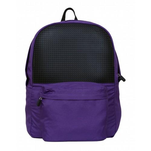 Kreativní pixelový batoh fialový A013