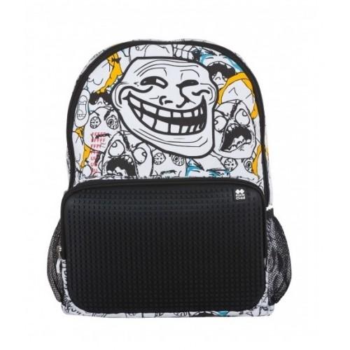Kreativní pixelový batoh KAKI