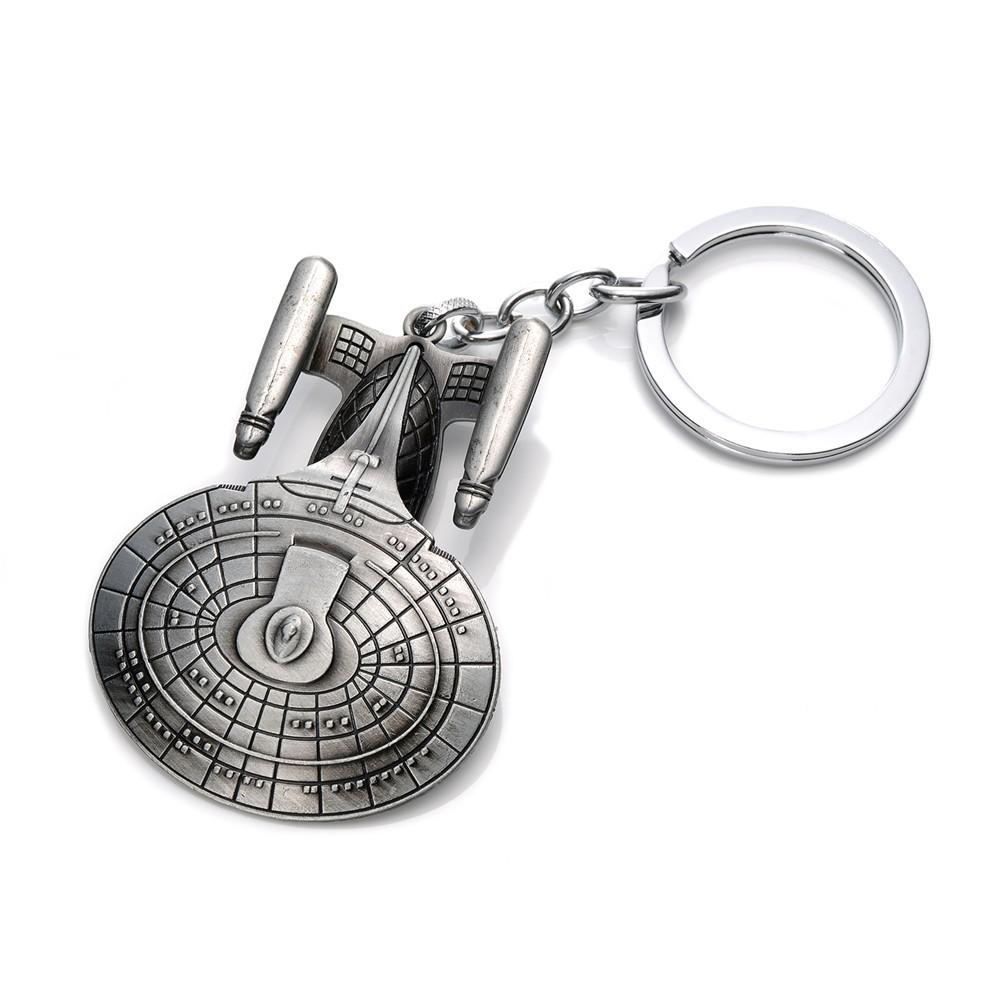 Star Trek USS Enterprise NCC-1701D - přívěšek na klíče