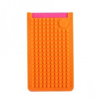 Pixel pouzdro na telefon B009 - Oranžová