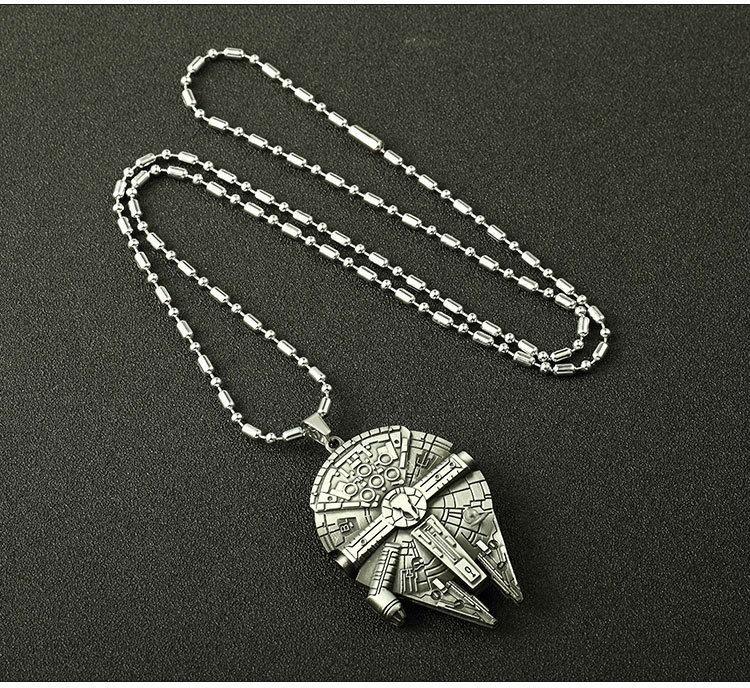 Star Wars Millennium Falcon náhrdelník
