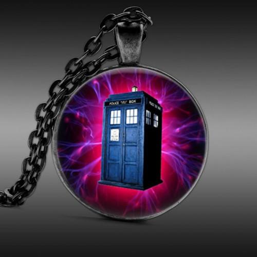 Doctor Who Náhrdelník - Telefonní budka