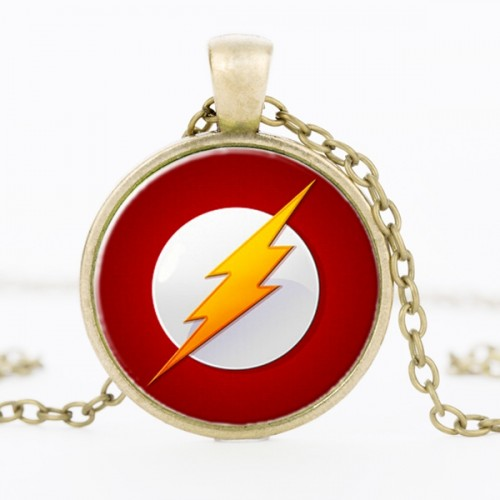The Flash Comic - náhrdelník