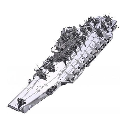 3D ocelová skládačka Letadlová loď