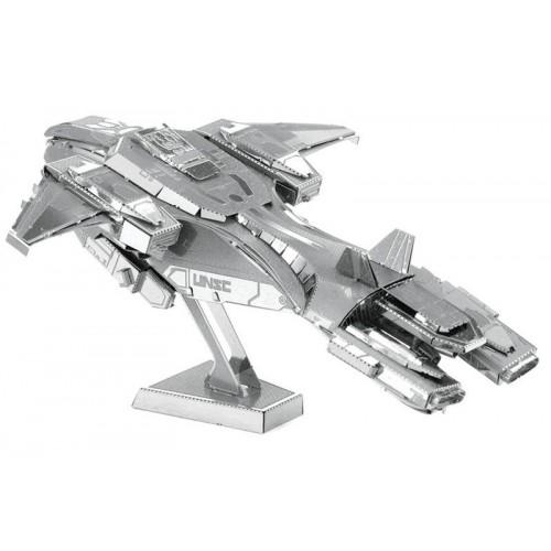 3D ocelová skládačka HALO UNSC Pelican