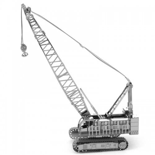 3D ocelová skládačka pásový jeřáb