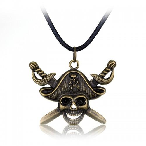 Náhrdelník lebka - Piráti z Karibiku
