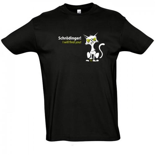 Schrödingerova kočka - Geek tričko