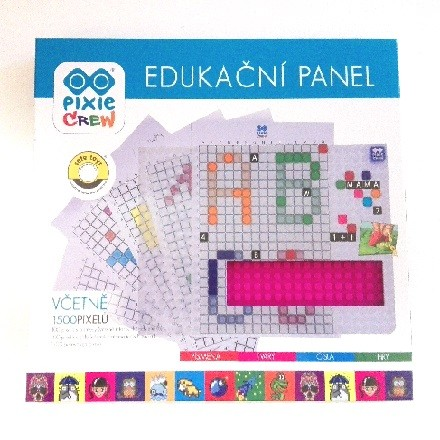 Edukační panel a stolní hry pro děti od 3 let