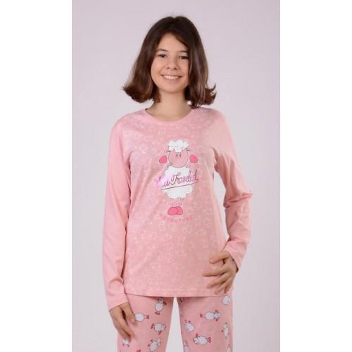 Dětské pyžamo dlouhé Ovce Adventure