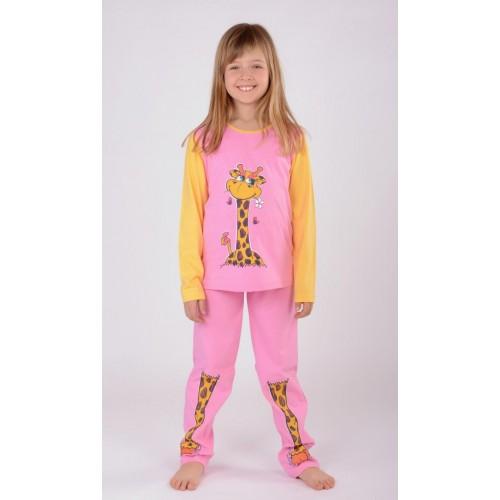 Dětské pyžamo dlouhé Malá žirafa