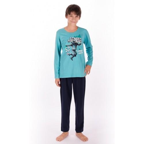 Dětské pyžamo dlouhé Fotbal