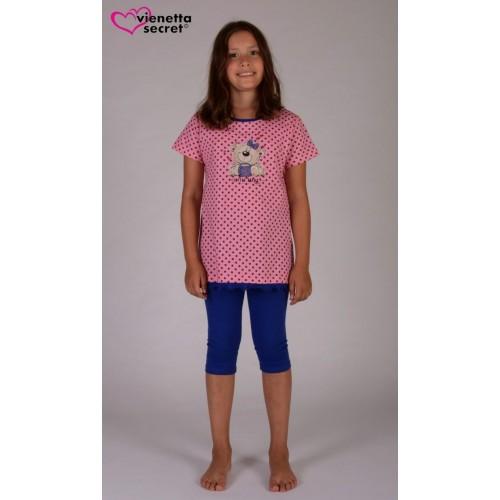 Dětské pyžamo kapri Méďa s hrnkem
