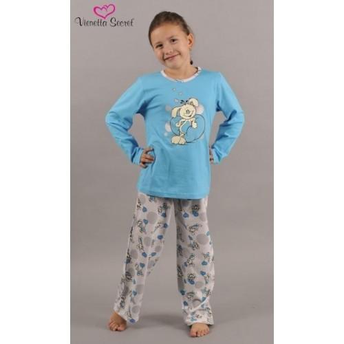 Dětské pyžamo dlouhé Zajíc a srdce
