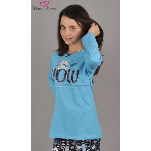 Dětské pyžamo dlouhé Méďa Wow