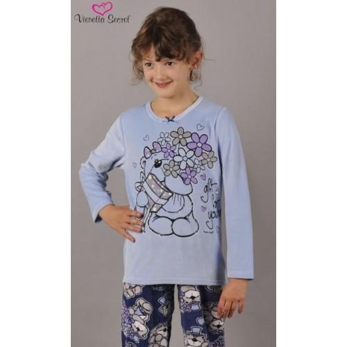 Dětské pyžamo dlouhé Medvěd Gratulant