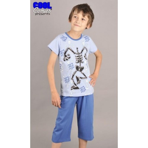 Dětské pyžamo kapri Kostra