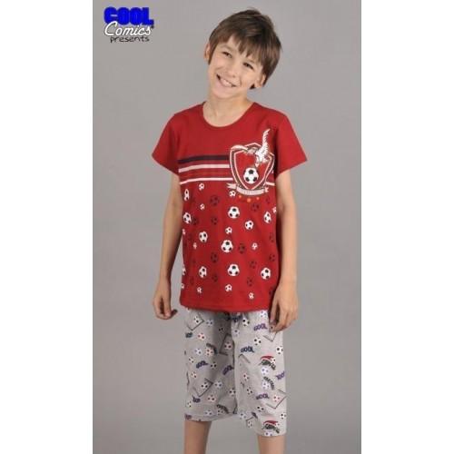Dětské pyžamo kapri Fotbal