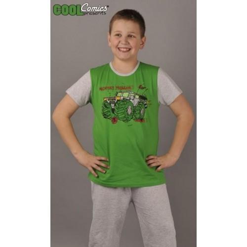 Dětské pyžamo kapri Auto Warriors