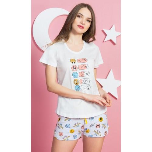Dámské pyžamo šortky Smile