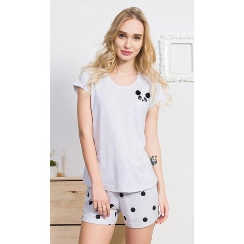 Dámské pyžamo šortky Panda