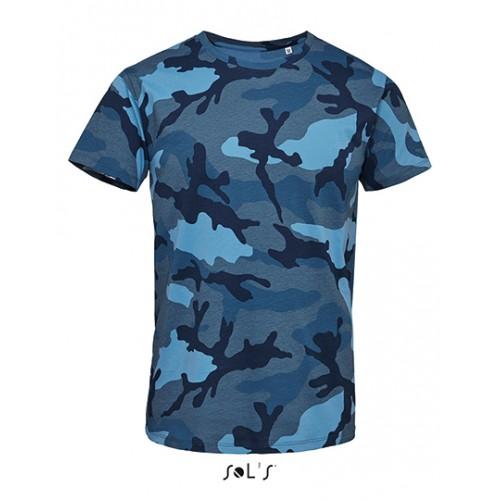 Vojenské tričko SOL'S - Military pánské -Navy