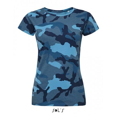 Vojenské tričko SOL'S - Military Dámské navy