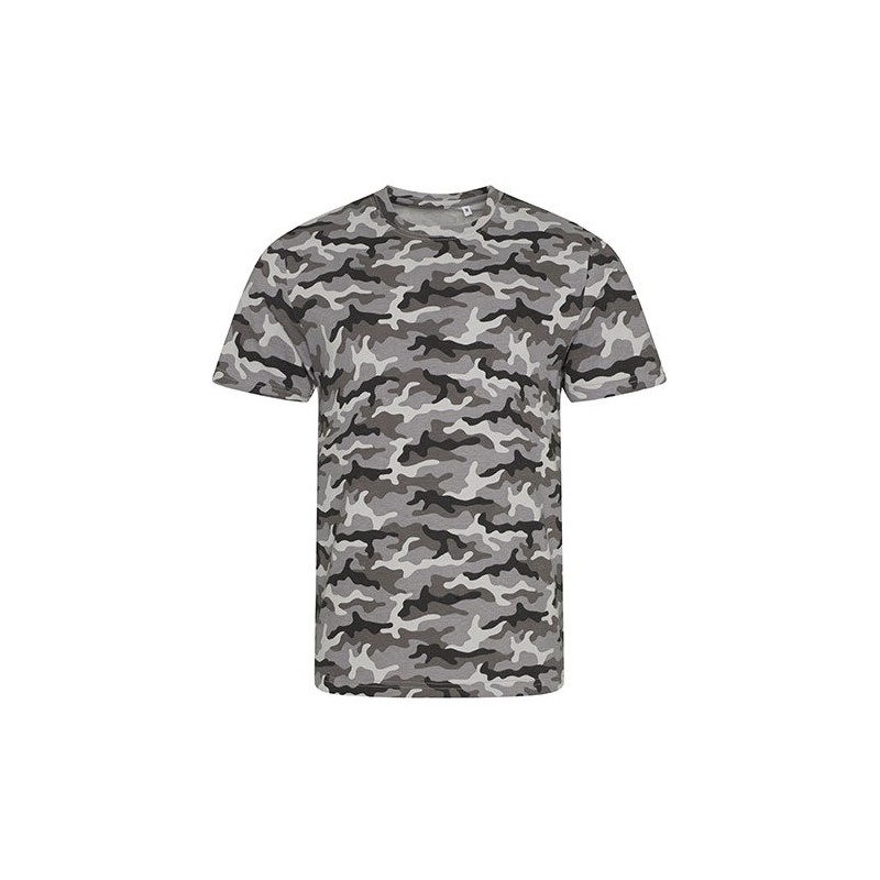 Vojenské tričko Just Ts & Polos - Military pánské -Grey