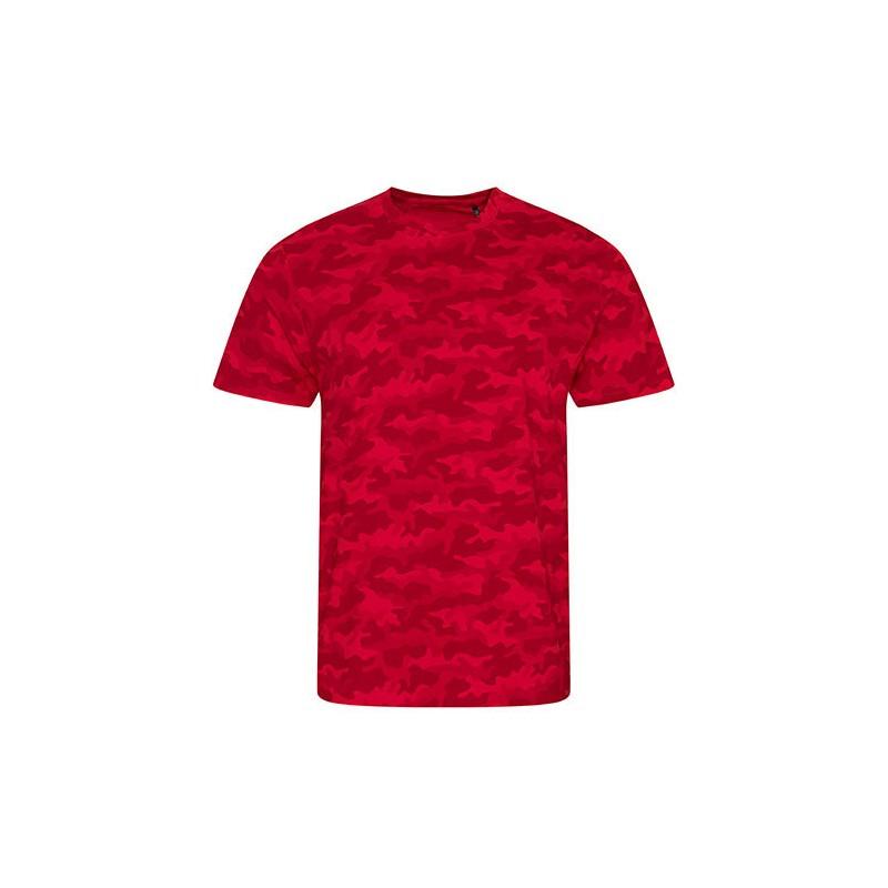 Vojenské tričko JT - Military pánské Rudé