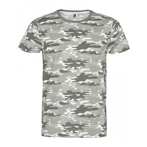 Vojenské tričko RY - Military pánské Grey