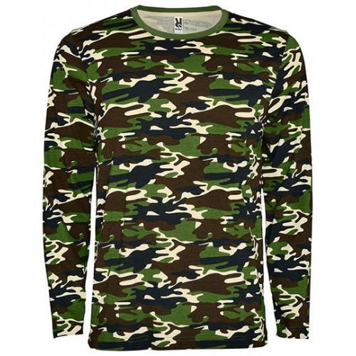 Vojenské tričko RY Dlouhý rukáv - Military pánské