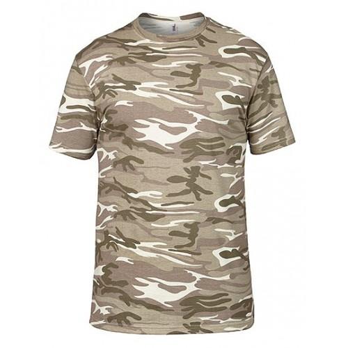 Vojenské tričko AN - Military pánské Písek