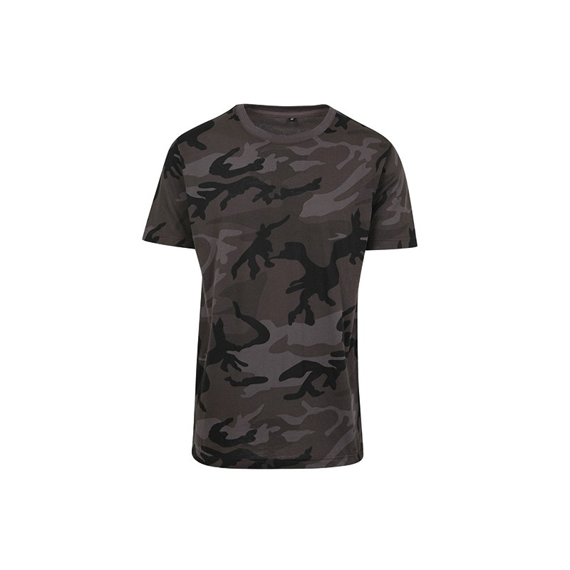 Vojenské tričko BYB - Military pánské Dark
