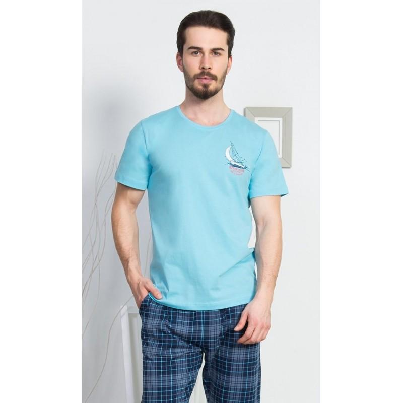 Pánské pyžamo kapri Malá plachetnice