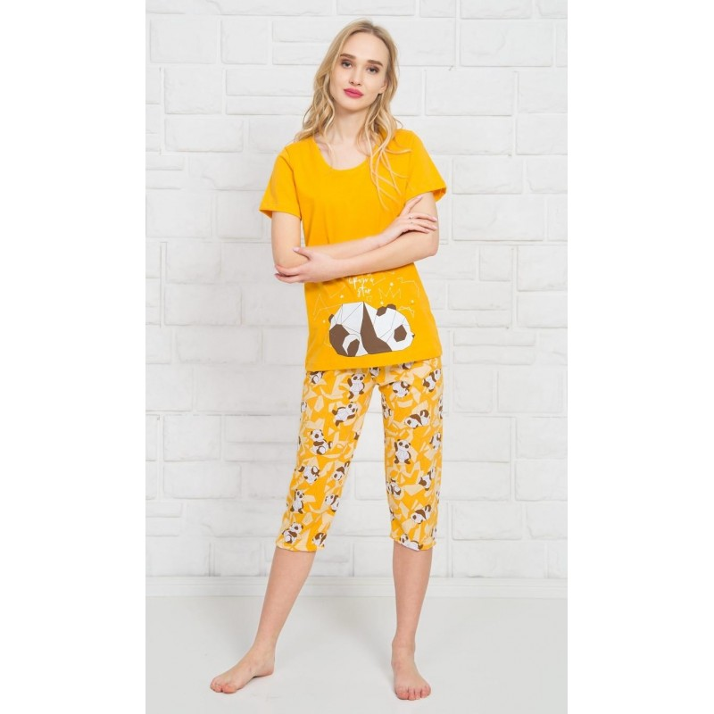 Dámské pyžamo kapri Panda Star